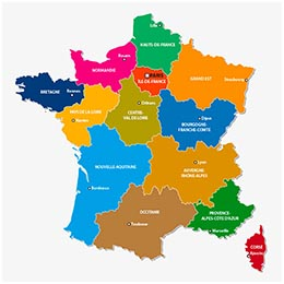 carte-des-regions-de-france-2019 - Photo